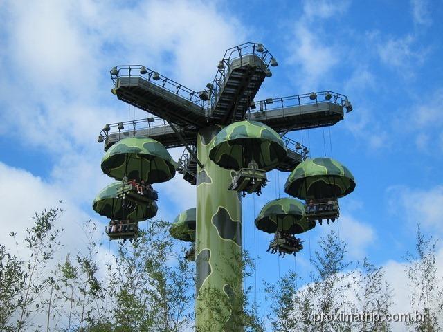 Eurodisney - Paraquedas do Toy Story