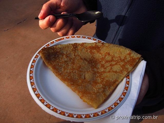 Disney Paris - o que comer? CREPE!