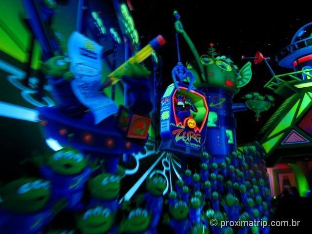 """Eurodisney Paris - Brinquedo """"laser Blast"""" do Buzz Lightyear"""
