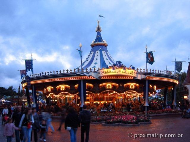 Disney Paris - Carrosel iluminado