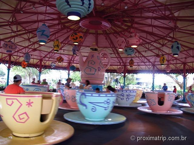 Mad Tea Cups - Magic Kingdom - Disney Orlando