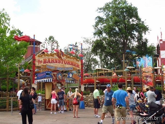 The Barnstormer - Magic Kingdom - Disney Orlando