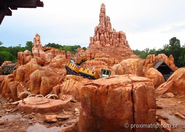Big Thunder Mountain - Magic Kingdom - Disney Orlando