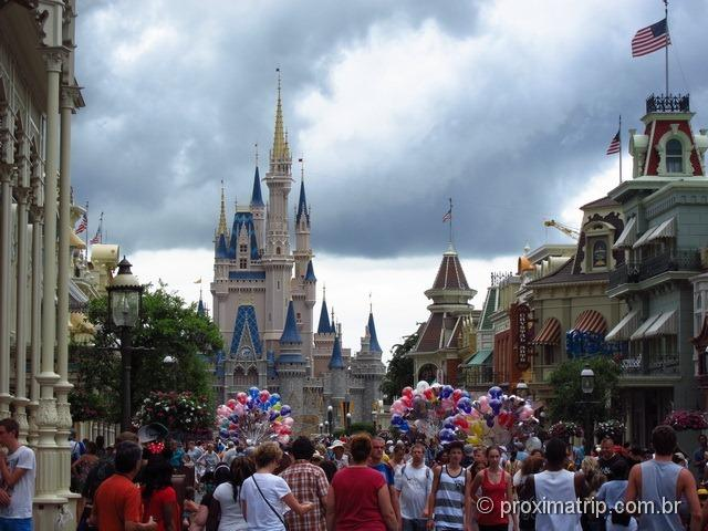 Castelo - Magic Kingdom - Disney Orlando