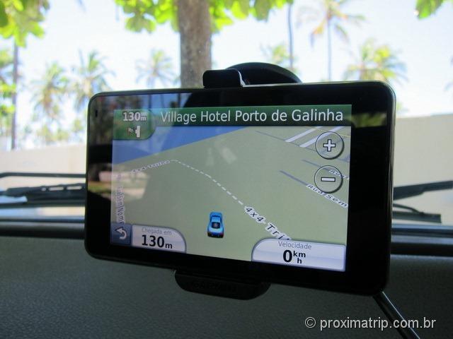 chegando ao Hotel Village de GPS - Porto de Galinhas.