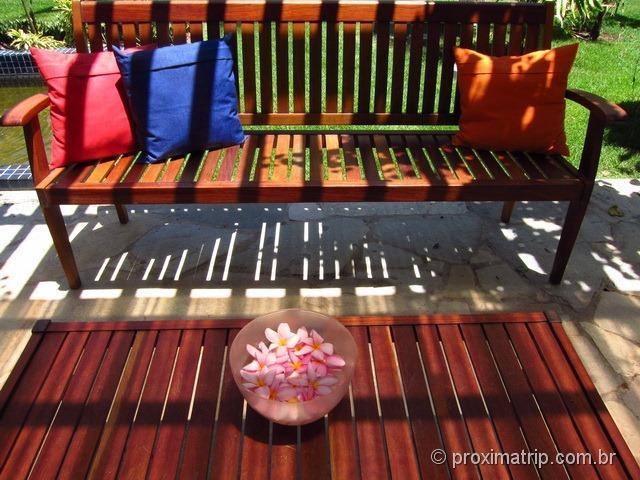 espaço para relaxar - Hotel Village - Porto de Galinhas