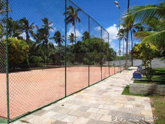Quadra de tennis - Hotel Village - Porto de Galinhas