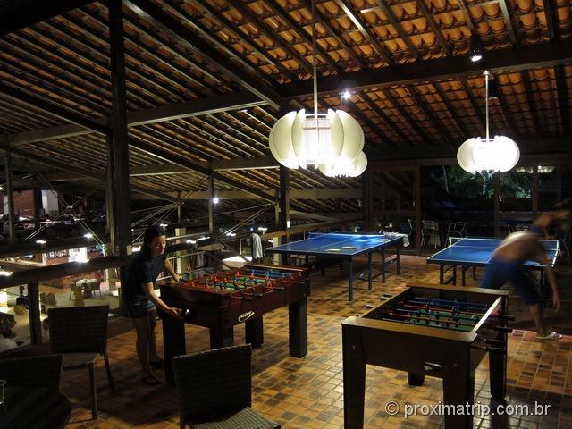 Salão de jogos, ping pong & pebolim! Hotel Village - Porto de Galinhas
