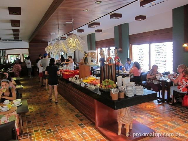 Café da manhã - Hotel Village - Porto de Galinhas