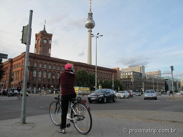 Conhecendo Berlim de bike