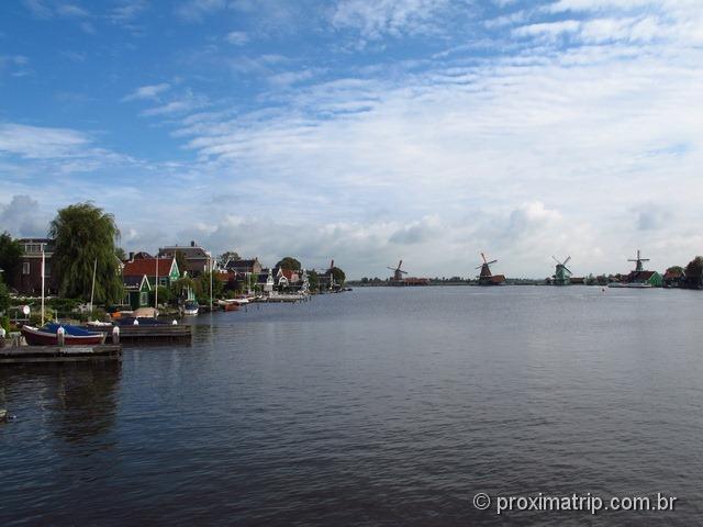 Moinhos Zaanse Schans - Amsterdam
