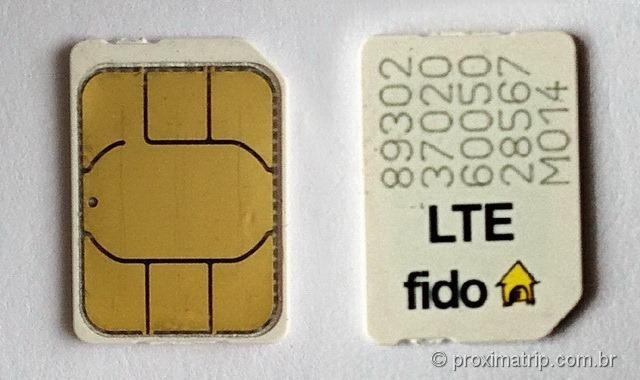 Onde e como comprar chip de celular pré-pago no canadá com 3G-4G