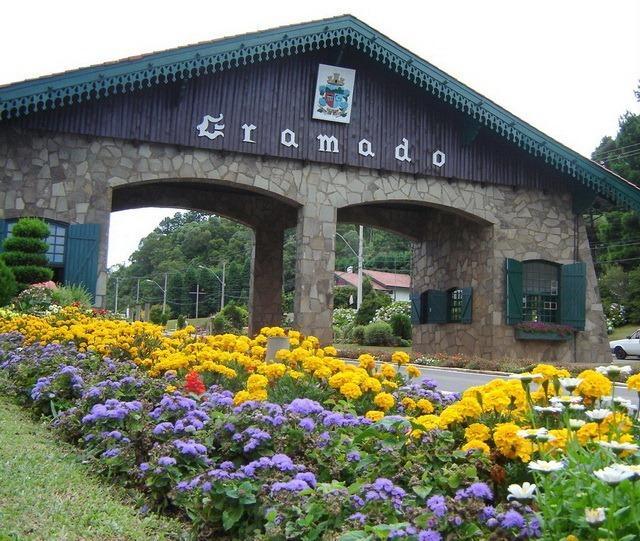 Gamado - Portal de entrada da cidade