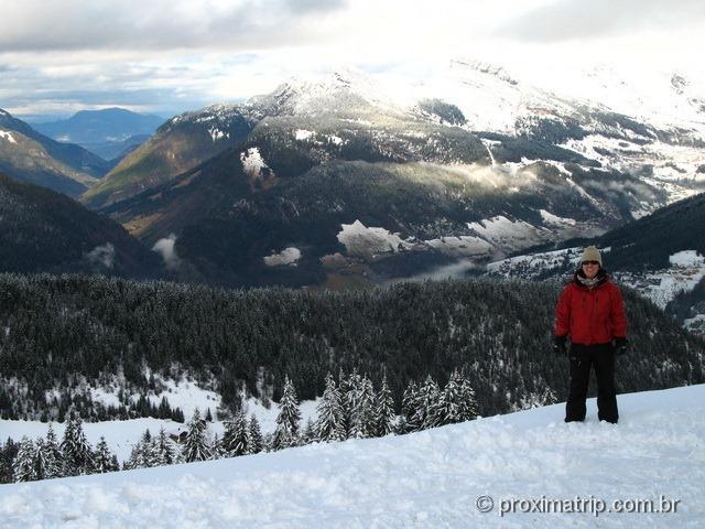 Linda vista do Massif Beauregard - La Clusaz