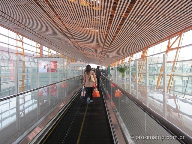 O enorme Aeroporto Internacional de Pequim (PEK)