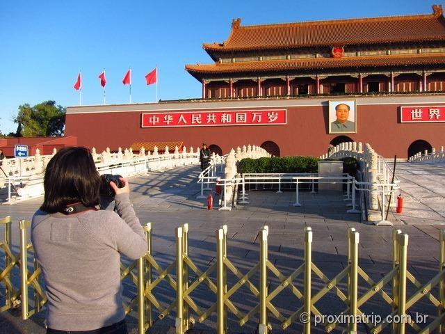 Tian'an Men - Praça da paz Celestial - Pequim