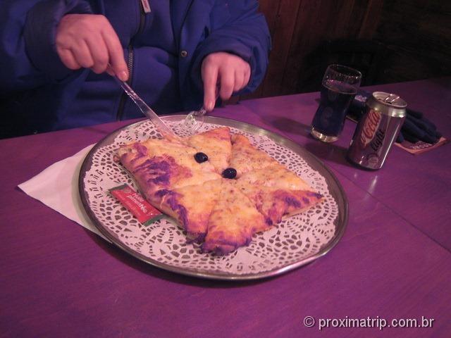 Pizza na França!