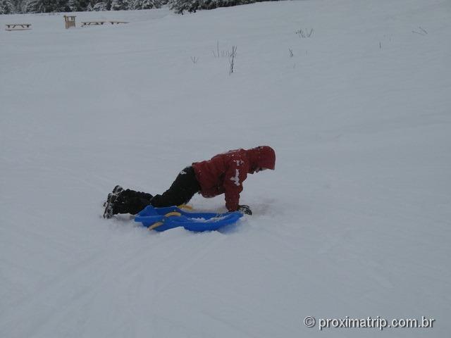 Ski bunda e um tombo (!) - Massif de Manigod - La Clusaz