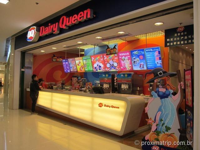 Dairy Queen - rua Wangfujing - Pequim