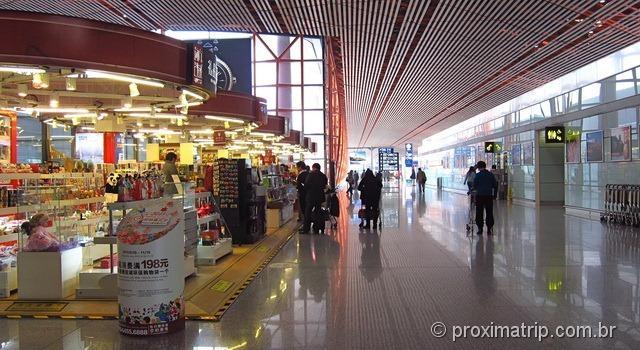 Aeroporto Internacional de Pequim (PEK) - Lojas