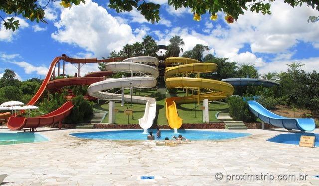 Mais toboáguas!! Parque aquático Thermas Water Park - Águas de São Pedro