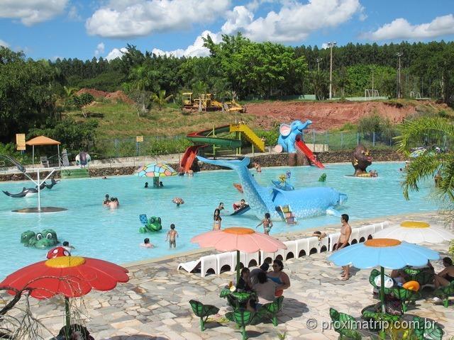 Área Infantil - Parque aquático Thermas Water Park - Águas de São Pedro