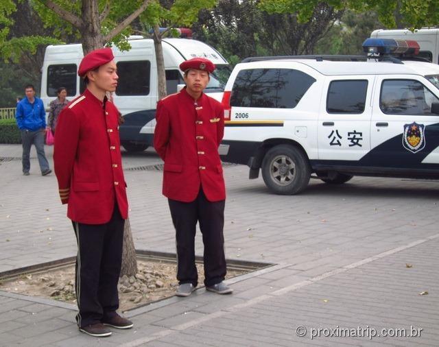 guardas chineses