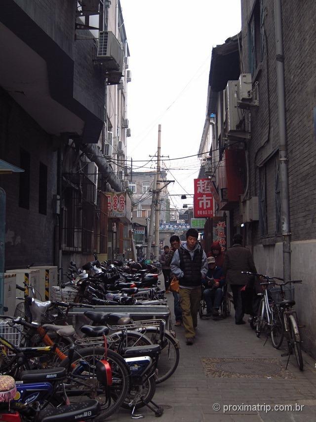 Bicicletas em toda parte... pequim