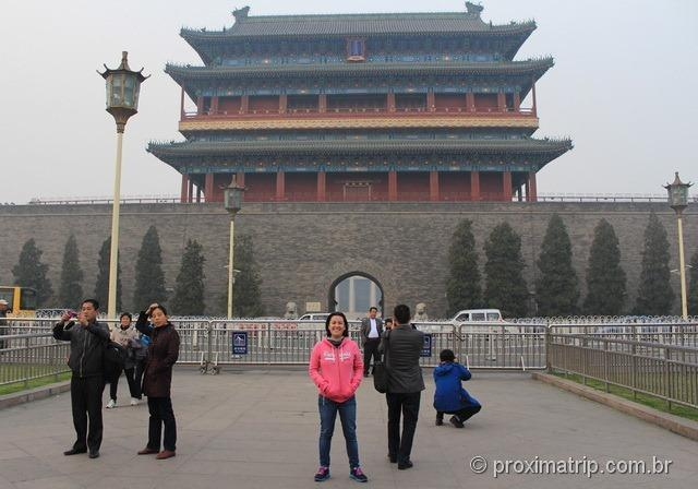 """""""Portão da Frente"""" ou Qian Men Pequim China"""