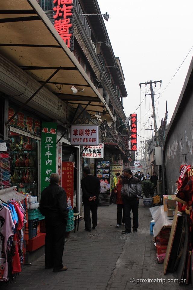 Travessa da rua Dashilan - Pequim