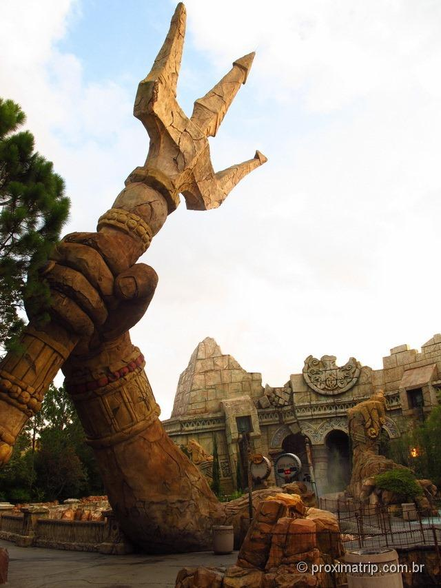 Poseidon's Fury - Parque Islands of Adventure da Universal