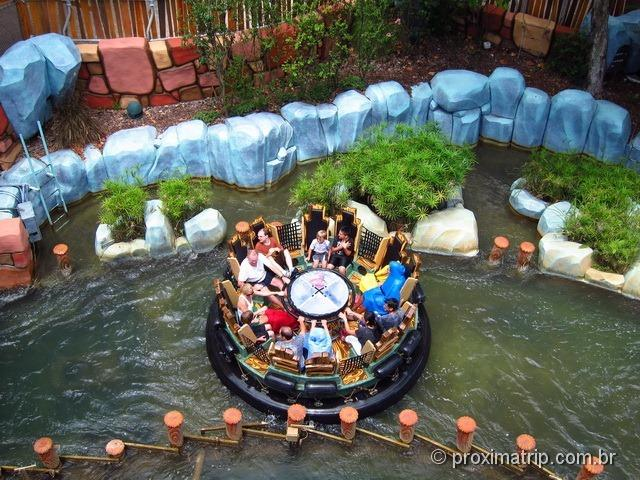 Popeye & Bluto's Bilge-Rat Barges - Parque Islands of Adventure da Universal