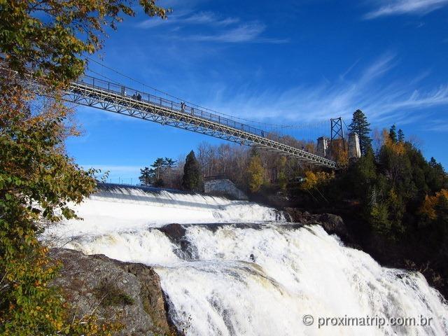 Ponte sobre Montmorency Falls