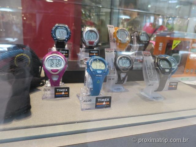 Relógios Timex no Sawgrass Mills
