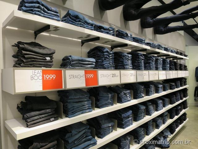 Jeans Calvin Kein - Outlets em Miami