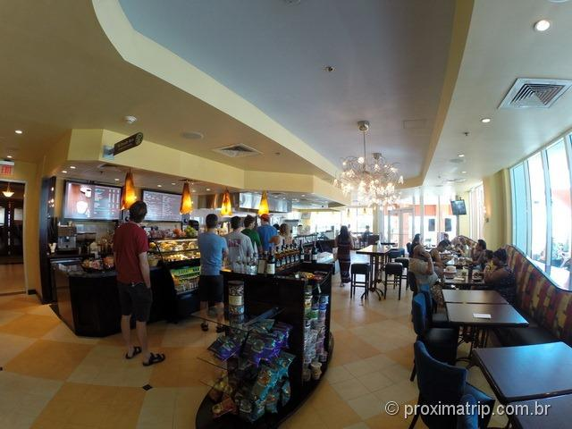 Bar/café/lanchonete - Hotel Hilton Fort Lauderdale
