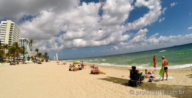Praia - Hotel Hilton Fort Lauderdale