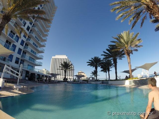 A Piscina - Hotel Hilton Fort Lauderdale
