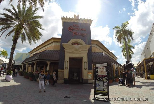 Cheesecake Factory do Sawgrass Mills - Fort Lauderdale