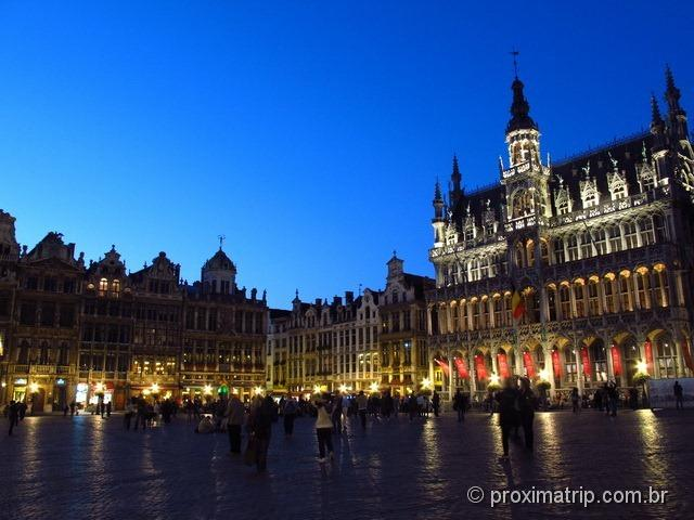 Grand Place em Bruxelas - A mais bela das praças da Europa