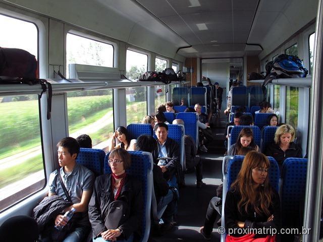 Trem regional Munique - Füssen