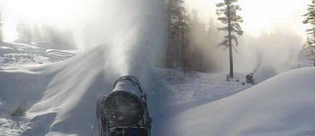 Máquina de fazer neve