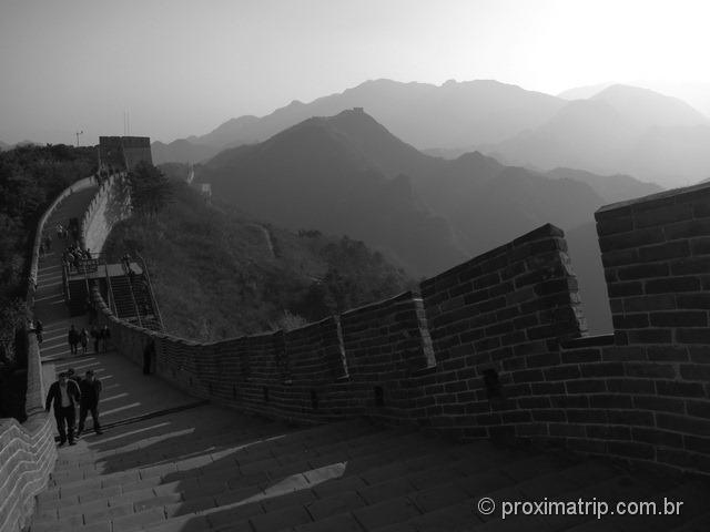 Muralha da China - trecho Badaling