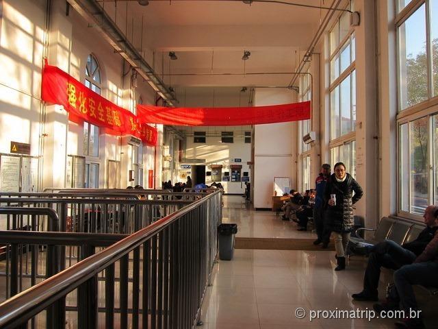Muralha da China - Estação de trem