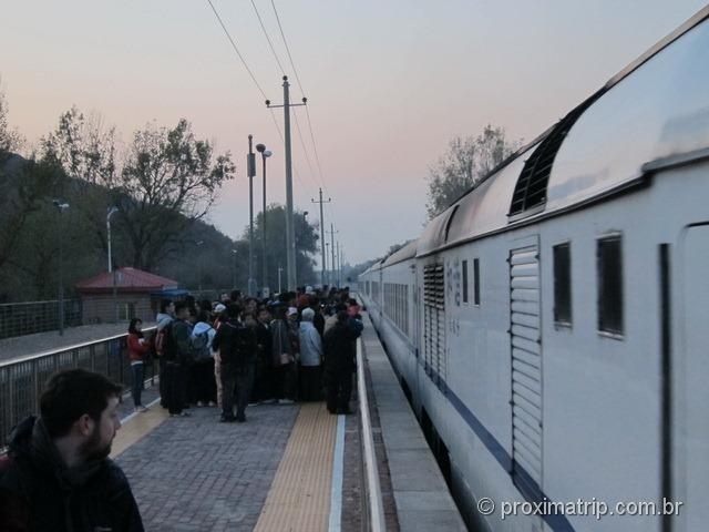 Trem Badaling - Pequim
