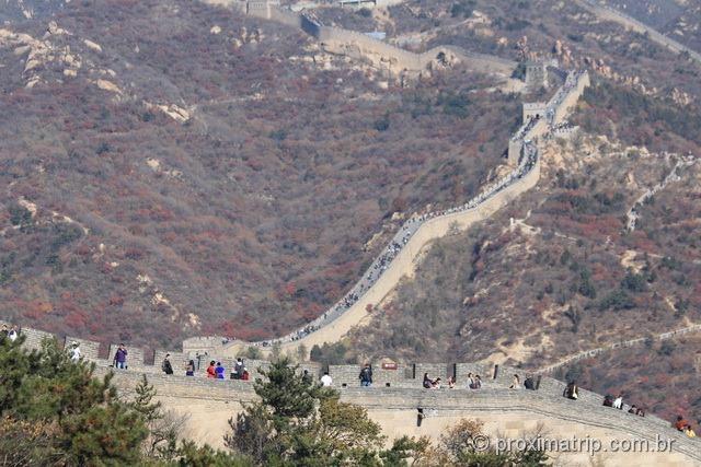 A impressionante Muralha da China!!