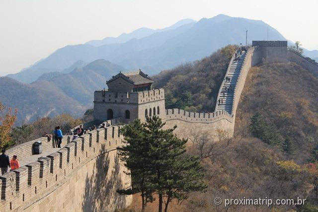 Muralha da China em Badaling - Pequim