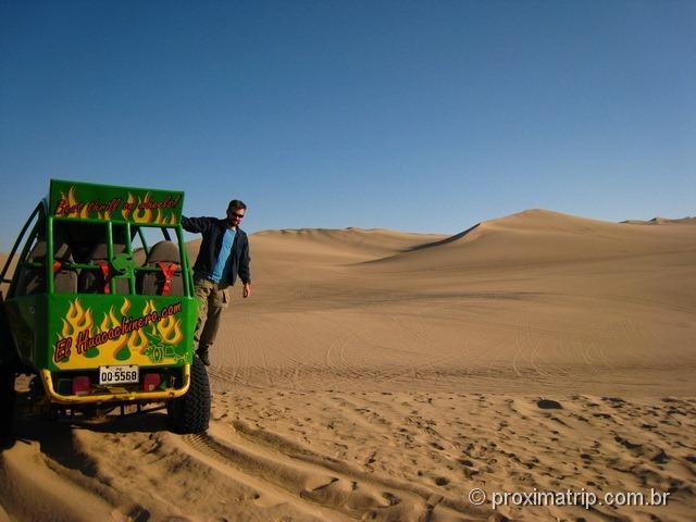 Passeio de Buggy: a melhor forma de conhecer o deserto de Ica