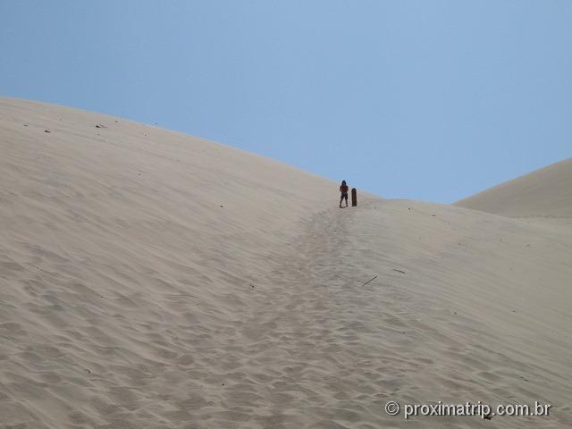 Sandboard no deserto de Ica - Oásis de Huacachina