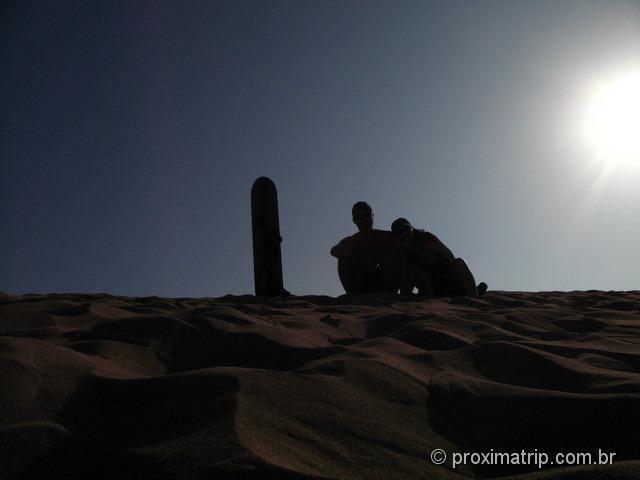 Sandboard no deserto de Ica - Huacachina